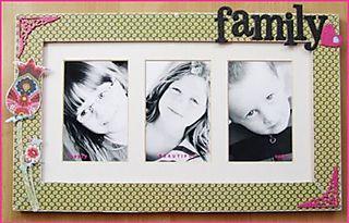 Karens family frame