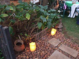 Party decor candles