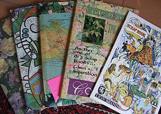 Old scrapbooks