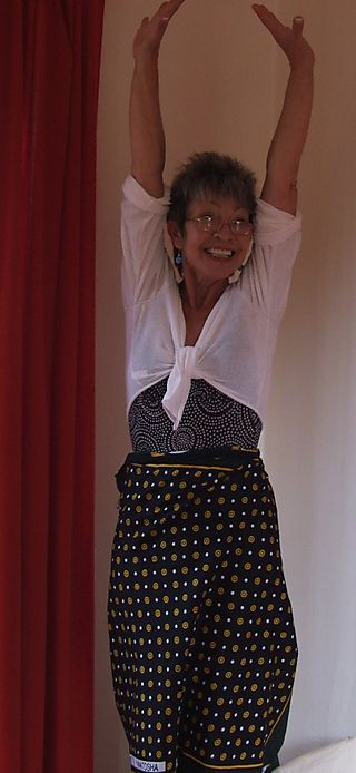 Me in a sarong