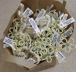 Wedding Gifts For Guests South Africa : ... the leftovers we made tiny bouquets as gifts for the flower girls