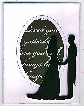 Wedding card or invitation