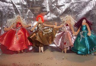 Dancing peg dollies