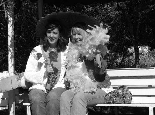 Sharon and Cheryl