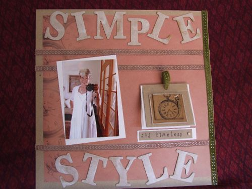 Simple style layout 1