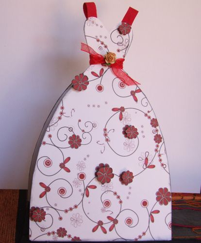 Dress card finished