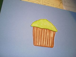 Cup cake card (2)