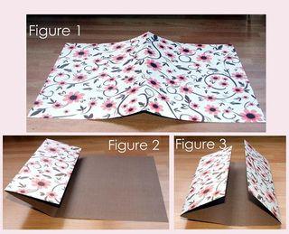 Folded book figure 1 - 3