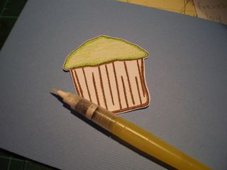 Cup cake card (1)
