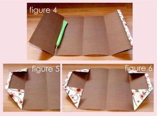 Folded book figure 4 - 6