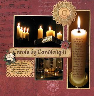 C is for candlelight