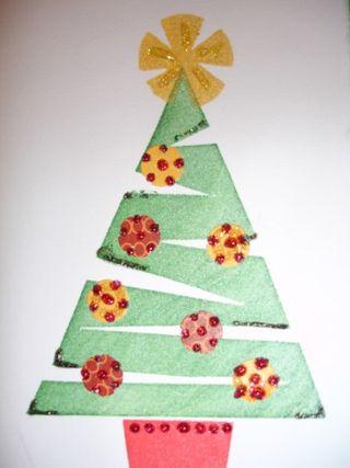 Tree and glitter b