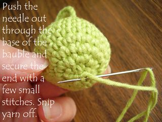 Pic 24 secure end of yarn