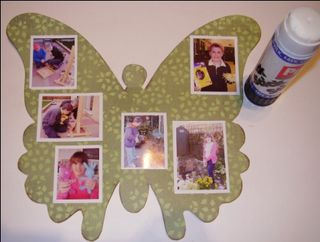12 glue photos onto pages web