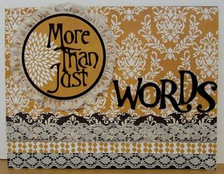 Words front cover