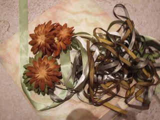 Wedding album - ribbons