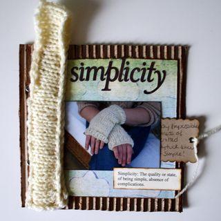 January - simplicity