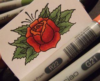 Finished-rose