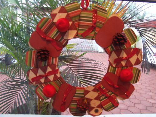Paper wreath 6