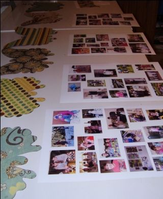11 lay out pages and photos web
