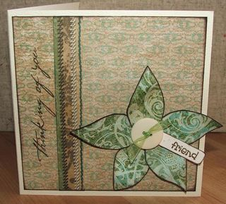 Flower card life's journey
