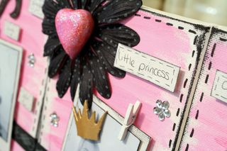 Canvas close up