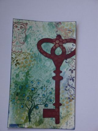 Inky messy challenge March 2010