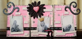Inky messy canvas