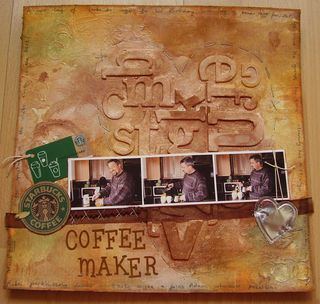 Completed layout COFFEE MAKER