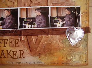 Close up finished COFFEE MAKER LO