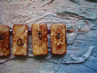 Close up strung 
