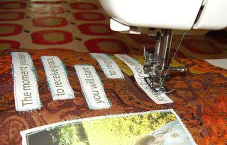 Messy machine stitching GRACE page web