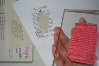 Leaf stamping mask web