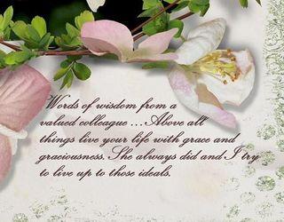Graciousness words