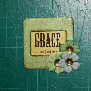 Graciousness slide frame