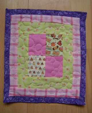 Mini quilt IACW July ACHIEVEMENT web