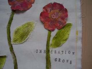 Canvas page INSPIRATION close up