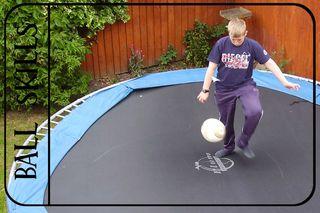 Ball skills with black overlay web