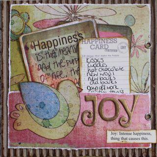 Simple things joy