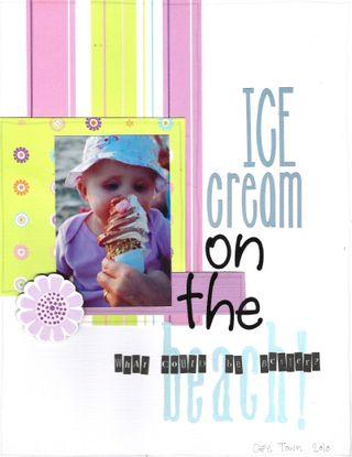 Zara first ice cream