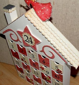Advent house down