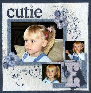 Blue cutie