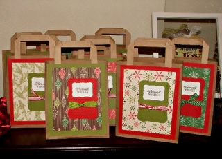 Teacher gift bags group