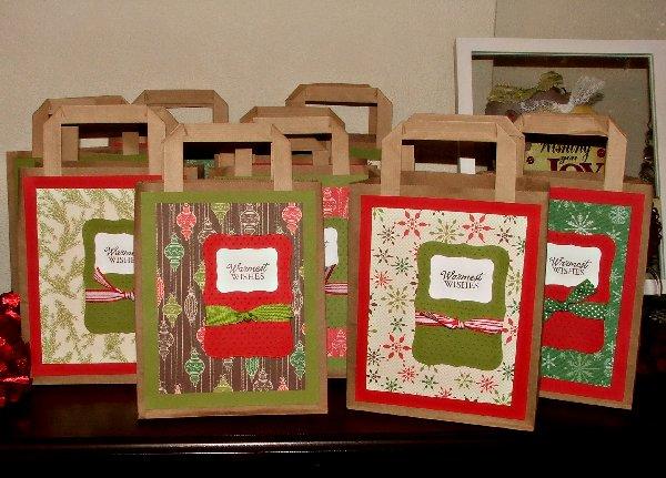 Teacher gift bags group
