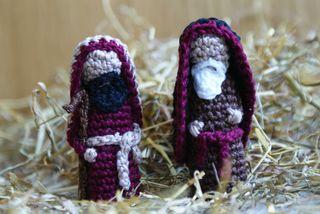 Crochet Nativity Set - AllFreeCrochet.com - Free Crochet