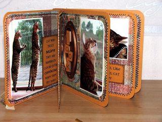 Mini book inside