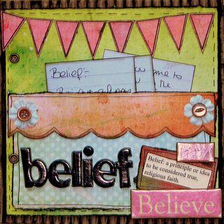 Belief simple things