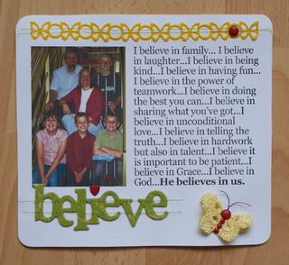 IACW Simple Things BELIEVE Jan page web