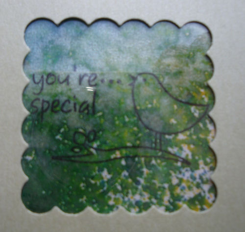 Close up of you're special
