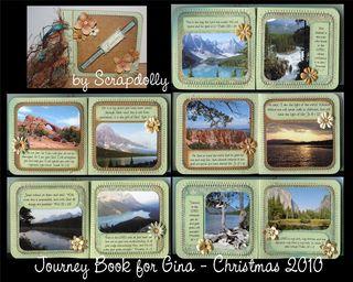 Gina journey book